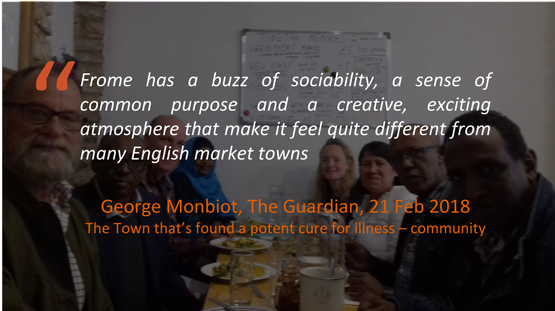 George Monbiot Frome Testimonial